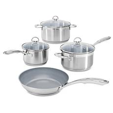Chantal Induction 21 Steel 7-Piece Set with Ceramic Coating