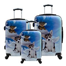 Chariot 3-piece Hardside Luggage Set - Dream