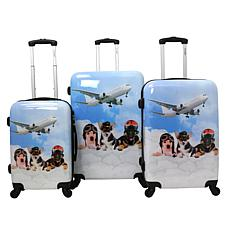 Chariot 3-piece Hardside Luggage Set - Pilots