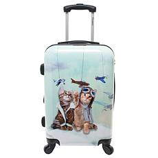 Chariot Toms 20-inch Hardside Carry On Luggage - Toms