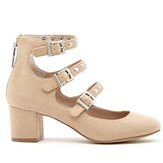 Charles by Charles David Lewis Block-Heel Buckle Pump