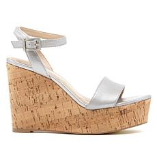 Charles by Charles David Lilla Platform Wedge Sandal