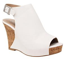 Charles by Charles David Lobby Platform Wedge Sandal