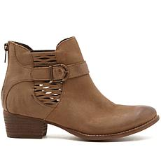 Charles by Charles David Yara Leather Buckled Bootie