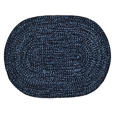 "Chenille Reversible Braided Rug - 22"" x 40"""