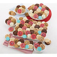 Cheryl's 100-Piece Patriotic Cookies