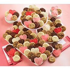 Cheryl's 100pc Valentine Cookie Box