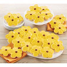 Cheryl's 24-piece Buttercream Frosted Sunflower Cutouts