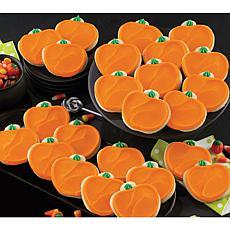 Cheryl's 24-Piece Pumpkin Cutout Cookies