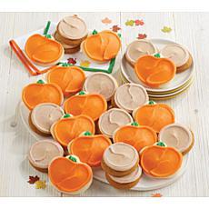 Cheryl's 24-piece Pumpkin Cutouts and Cinnamon Pumpkin Cookie Box