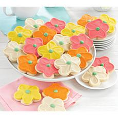 Cheryl's 36-piece Flower Cutout Cookies