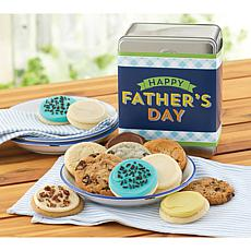 Cheryl's Fathers Day 12-Piece Assorted Cookie Tin