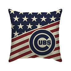 "Chicago Cubs 18""X18"" Duck Cloth  Décor Pillow"