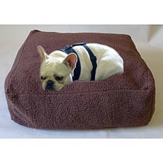 Chocolate Cloud Pet Pouf - Small