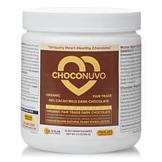 ChocoNuvo 66% Cacao Dark Chocolate - 10 Servings