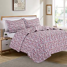 Christopher Knight Collection Retro Printed 3-piece Quilt Set