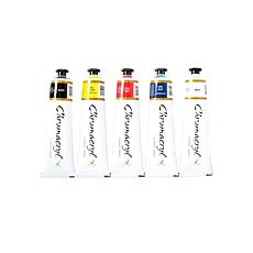 Chroma Inc. Chromacryl Students Acrylic Paints - Set of 5