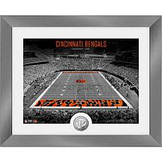Cincinnati Bengals Art Deco Stadium Silver Coin Photo Mint