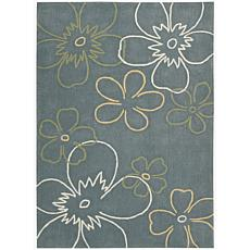 Citi limit Floral Area Rug - 5' x 7'6""