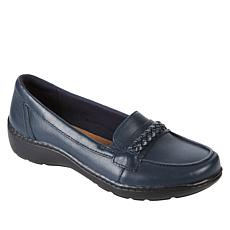 Clarks Collection Cora Viola Slip-On Leather Loafer