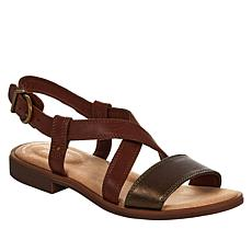 Clarks Collection Declan Spring Leather Sandal
