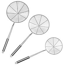Classic Cuisine 3-piece Stainless Steel Skimmer Ladle Set