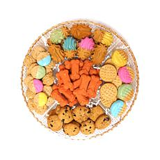 Claudia's Canine Bakery 29oz Dog Treat Platter - Pastel