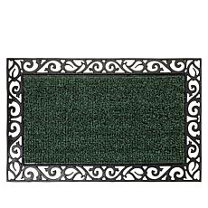 Clean Machine AstroTurf® Scroll Design Scraper Door Mat