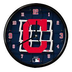 Cleveland Indians Team Net Clock