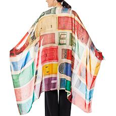 Clever Carriage Casablanca Vintage Doors Scarf