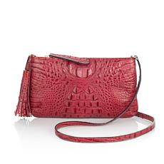 "Clever Carriage ""Lucca"" Italian Leather Crossbody - Limited Quantity"