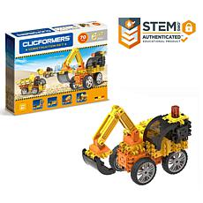 Clicformers Construction 74-Piece Set