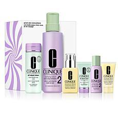 Clinique Great Skin Everywhere Skincare Set I II
