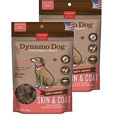 Cloud Star  Dynamo Dog Skin & Coat - Salmon 14 oz Functional Treats...