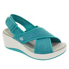 CLOUDSTEPPERS by Clarks Step Cali Cove Wedge Sandal