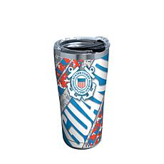 Coast Guard 20 oz Stainless Steel Tumbler with lid