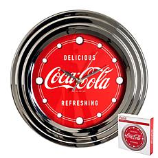 "Coca-Cola 12"" ""Delicious and Refreshing"" Clock"