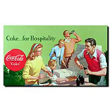 "Coca-Cola ""Coke for Hospitality"" Canvas Art"