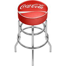 Coca-Cola Red-Padded Pub Stool - 30""