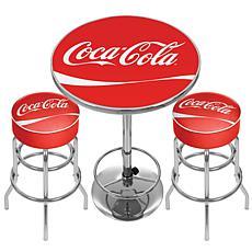 Coca-Cola Ultimate Gameroom Combo - 2 Bar Stools/Table