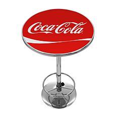 Coca-Cola Vintage Pub Table with Logo