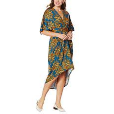 Coldesina Butterfly Kaftan Dress