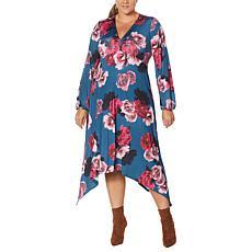 Coldesina Izzy Long-Sleeve Empire Waist Dress