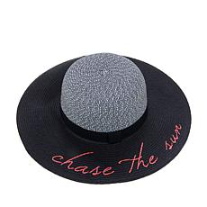 Collection 18 Chase The Sun Packable Floppy Hat