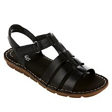 Collection by Clarks Blake Jewel Leather Fisherman Sandal