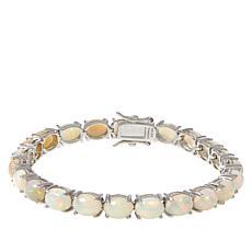 Colleen Lopez 8x6mm Oval Ethiopian Opal Tennis Bracelet