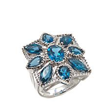 "Colleen Lopez ""Bursting Bud"" London Blue Topaz Ring"