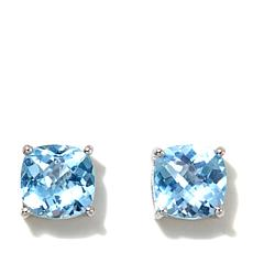 Colleen Lopez Cushion-Cut Gemstone Stud Earrings