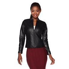 "Colleen Lopez ""Dream Weaver"" Leather Jacket"