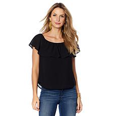 Colleen Lopez Emphasis on Effortless Flutter Top